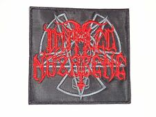 IMPALED NAZARENE BLACK METAL EMBROIDERED PATCH
