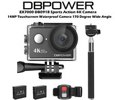 EX7000 4K Action Camera WIFI Sports Video Camera 170 Degree Wide Angle CAM03
