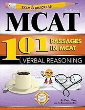 Examkrackers 101 Passages in MCAT Verbal Reasoning (Paperback or Softback)