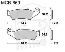 TRW Lucas balatas mcb669si delantero Honda XR 125 L