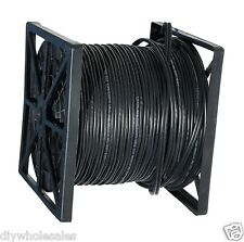 500FT RG59 Siamese Cable with 18/2 Power and 24/2 DATA Black color