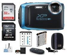 FUJIFILM FinePix XP130 Digital Camera (Blue) 7 Piece Bundle (Fujifilm Dealer)