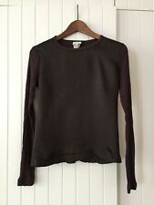 Amazing Dries Van Noten Long Sleeve Top, Size Small