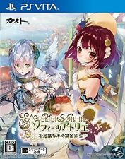 Used PS Vita Sophie of Atelier  SONY PLAYSTATION JAPANESE IMPORT