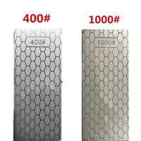 400#/1000# Diamond Knife Sharpening Stone Polished Whetstone Polishing Tools JP