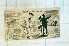 1955 Clem Hill Cricket Robert Clark Edinburgh Hole In One 1870