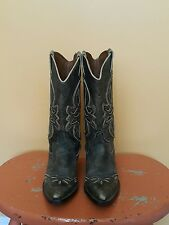 Vintage Nine West Cowboy Boots Women Size 7M