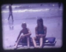Vintage 1978 original MYRTLE BEACH SC 8mm Home Movie Film - Water Slides GoKarts