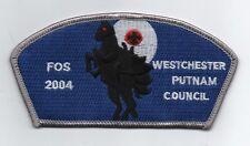 Westchester-Putnam Council CSP SA-9, FOS 2004, Mint!