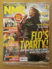 NME JULY 14 2012 NOEL LIAM GALLAGHER FRANK OCEAN KILLERS FLORENCE AND MACHINE