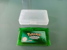 NEW POKEMON EMERALD GBA GAMEBOY ADVANCE CARTRIDGE REPRO