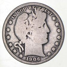 1906-O Barber Half Dollar - Charles Coin Collection *277