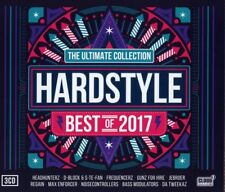 HARDSTYLE ULTIMATE COLLECTION - BEST OF 2017  3 CD NEUF