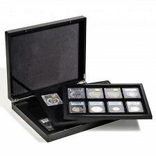 Coffret Numis VOLTERRA TRIO de luxe, avec chacune 8 US-SLABS, noir  réf 341831