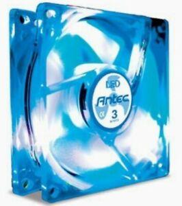 ANTEC 3-Speed LED TRICOOL (blue)  80mm FAN