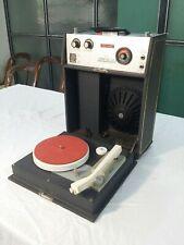 Phono valigia Giradischi Portatile TONY BOEMI TERRY DE LUX Radio Fm  vintage