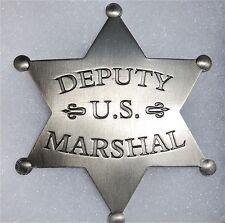 US Deputy Marshal Antique Western Replica Ronald Reagan Lawman Badge ph073