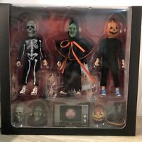 NECA Halloween 3 Season of the Witch 8 inch Clothed Action Figure Set