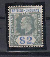 C2749/ BRITISH HONDURAS – EDWARD VII – SG # 92 MINT MH – CV 195 $