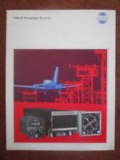 5/1972 DEPLIANT PUB LEAFLET COLLINS RADIO VIR-30 NAVIGATION RECEIVER AIRCRAFT