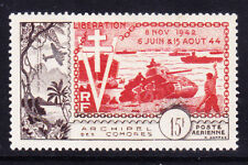 COMORO ISLANDS 1954 SG17 10th Ann of Liberation - lightly mounted mint. Cat £40
