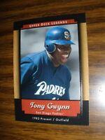 2001 Upper Deck Legends  #79 Tony Gwynn San Diego Padres NrMt