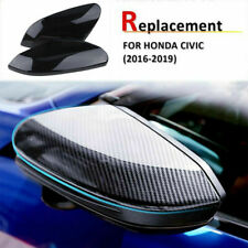 for Honda Civic 2018 Sedan Coupe Hatchback Carbon Fiber Door Side Mirror Cover