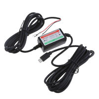 Universal DC 12V to 5V 3A Micro USB Car DVR Exclusive Power Box Adapter
