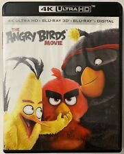 THE ANGRY BIRDS MOVIE 4K ULTRA HD BLU RAY 2 DISC SET FREE WORLD WIDE SHIPPING