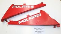 Polaris 1993 350L 350 L 4x4 Right Left Side Panel Covers Cover Red 133-55