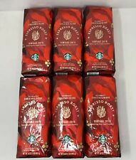 Starbucks Espresso Roast Whole Bean Coffee (Christmas) 6 lbs Best By 4/1/20