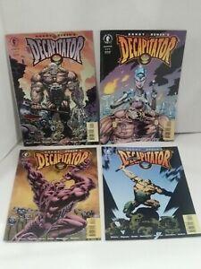 Complete Set of Randy Bowen's Decapitator 1-4 Dark Horse Comics