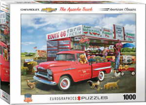 Chevrolet The Apache Truck Eurographics 1000 Piece Jigsaw Puzzle New Sealed