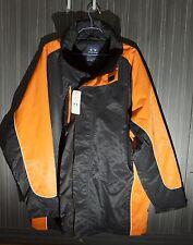 Biz Collection Jacket J10110 Unisex Black and Orange Tag Size 2XL