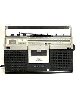 National Panasonic Vintage Radio Cassette player recorder RS-462S Boombox