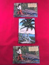 Antique  postcards (3) Black Americana