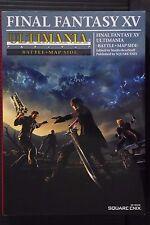 "JAPAN Final Fantasy XV Ultimania ""Battle + Map Side"" Guide Book"