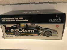 1:18 Classic Carlectables Paul Dumbrell 2008 HSV Dealer Team Holden VE Commodore