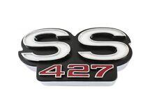 """1968 Chevy Impala Grille Emblem """"SS 427"""" NEW Trim Parts!"""