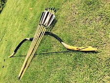 25lb-60lb Angel Archery longbow Traditional handmade recurve Bow for hunters