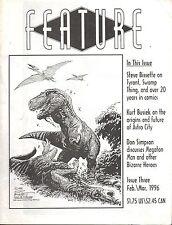 FEATURE Issue #3, Three Feb./Mar. 1996-Swamp Thing, Astro City, Megaton Man-rare