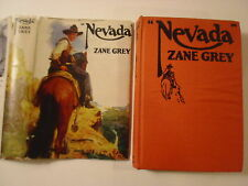 Nevada, Zane Grey, Grosset & Dunlap, DJ, 1950s Edition