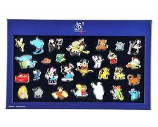 Disney Store Japan 25th Anniversary Pin Set - 28 Pins in a Box