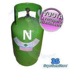 3S BOMBOLA VUOTA 12 Kg con RUBINETTO - RECUPERO GAS REFRIGERANTE R407c R134A R22