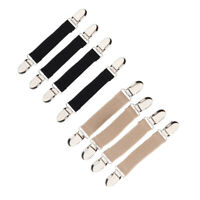 4Pcs Children Stretchy Stainless Steel Glove Mitten Clip Clasp Grip Non-slip