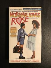 Norman Loves Rose Vintage VHS Tape English Audio With dutch subs