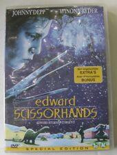 DVD EDWARD AUX MAINS D'ARGENT - Johnny DEPP / Winona RYDER - Tim BURTON