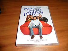 How I Met Your Mother - Season 1 (Dvd, 2006, 3-Disc Full Frame) Used 1st One