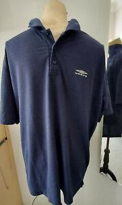 UMBRO XL Herren Polo-Shirt / T-Shirt GR. XL Weiß