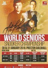 Snooker, Pool & Billiards Memorabilia